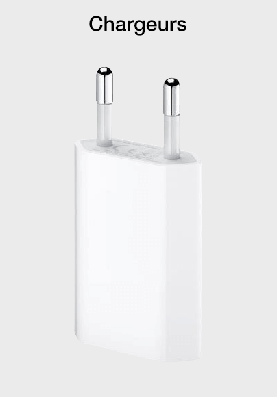 Chargeurs iPhone