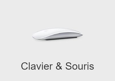 clavier et souris mac