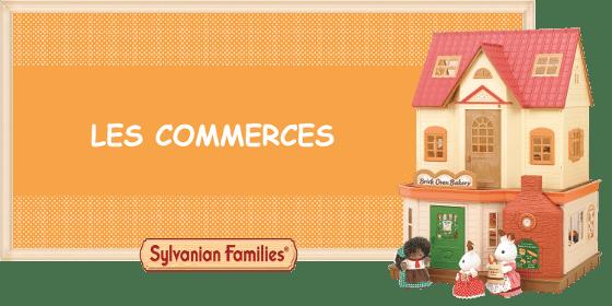 Les commerces des Sylvanian Families