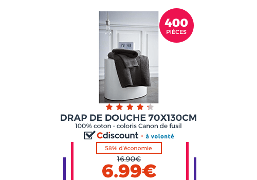 linge de lit achat vente linge de lit pas cher french days d s le 27 avril cdiscount. Black Bedroom Furniture Sets. Home Design Ideas