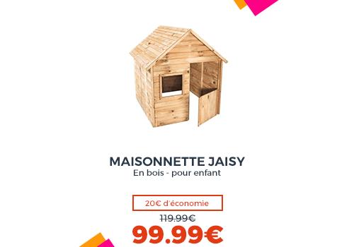 Maisonnette en bois JAISY