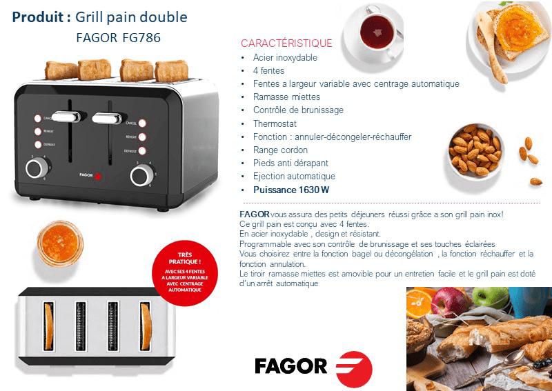 Blanc /& acier inoxydable grille-pain 2 fentes w amovible plateau /& bagel fonction