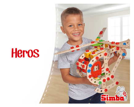 Hero Constructor Jeu de Construction Simba Jeux en Bois