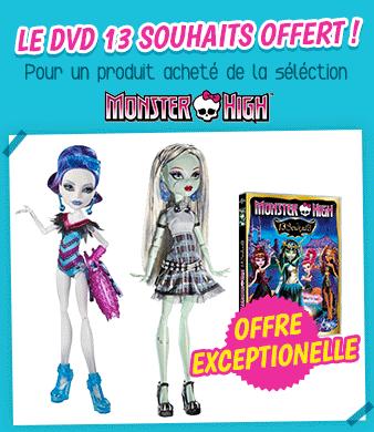 Poup es mannequin monster high achat vente poup es mannequin monster high pas cher cdiscount - Monster high noel ...