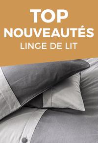 linge de lit achat vente linge de lit pas cher cdiscount. Black Bedroom Furniture Sets. Home Design Ideas