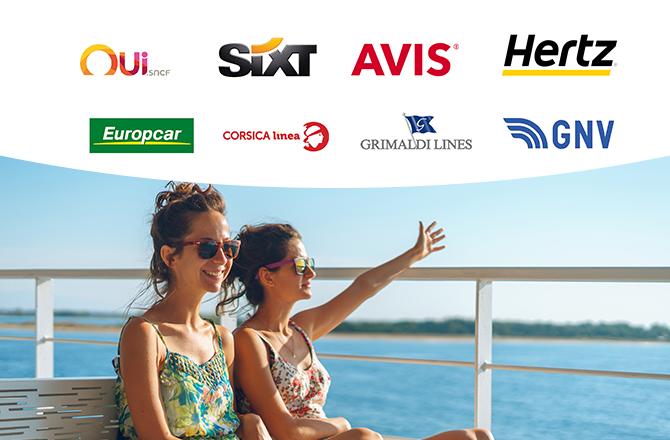 Toutes nos offres de ferry, train, location de voiture