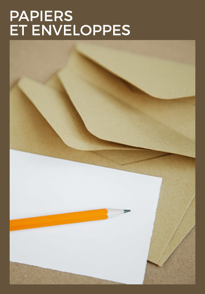 Papiers - Enveloppes