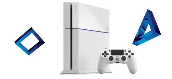 PS4 Blanche