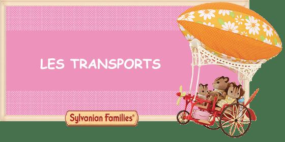 Les transports Sylvanian Families