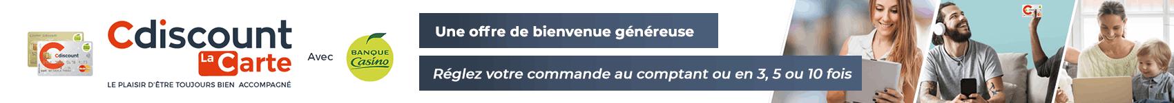 Carte Cdiscount Ficp.Carte Cdiscount Offre De Bienvenue Et Avantages