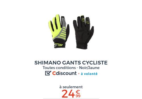 gants vélo