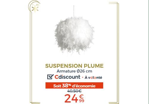 SUSPENSION PLUME