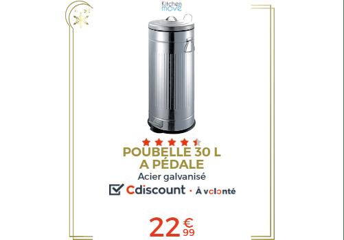 POUBELLE 30L