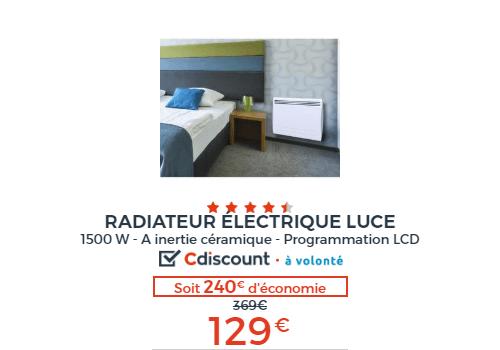 chauffage radiateur electrique