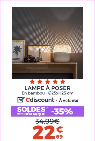 LAMPE A POSER BOBO