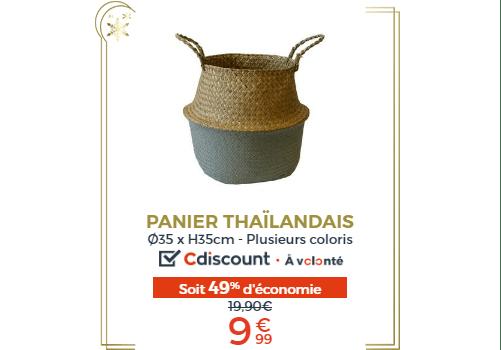 PANIER THAILANDAIS