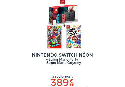 Switch + Mario Party + Odyssey