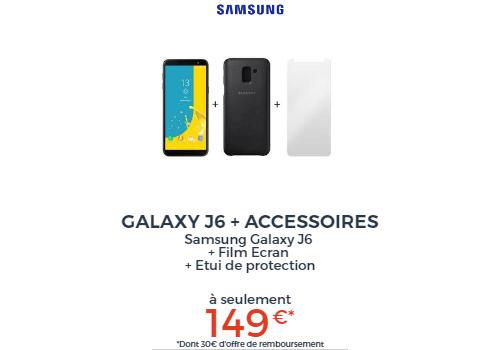 Samsung Galaxy J6 + Access