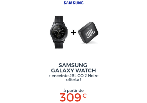 Samsung Galaxy Watch + JBL