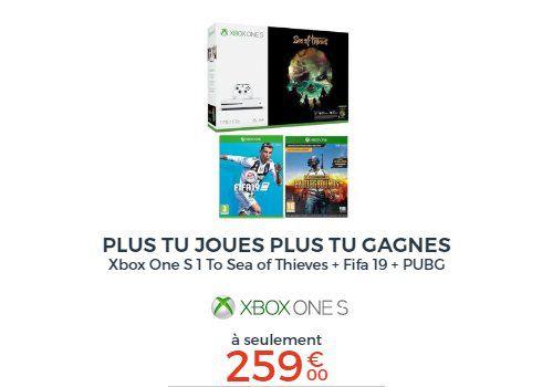 Xbox One S + 2 jeux
