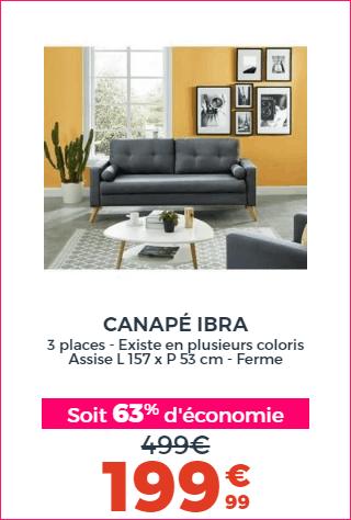 Canapé IBRA