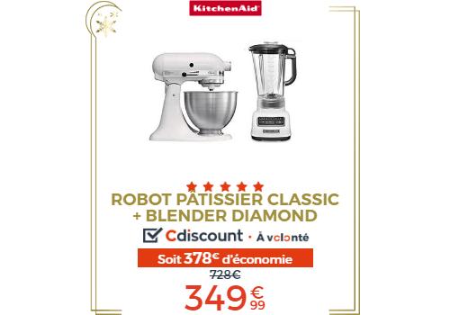pack robot Kitchenaid