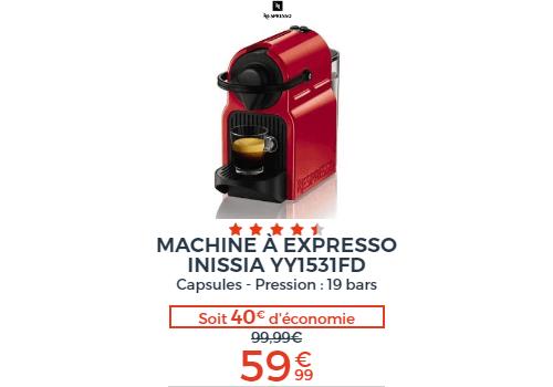 Machine à expresso Inissia