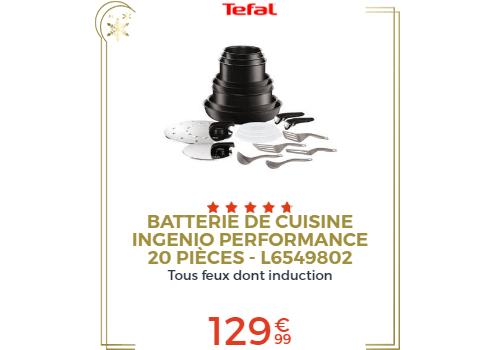 Batterie de cuisine 20 pièces
