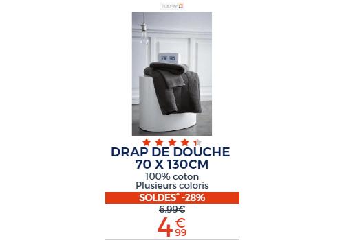 DRAP DE DOUCHE