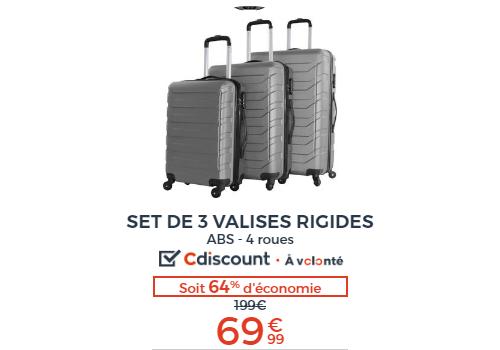 d5df8818cf Cdiscount assurément votre partenaire privilégié pour vos achats valise  bagage . Lire la suite. PUBLICITÉ. ‹ ›