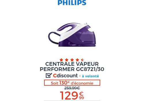 Centrale vapeur Philips