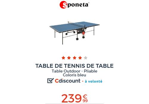 table tennis de table