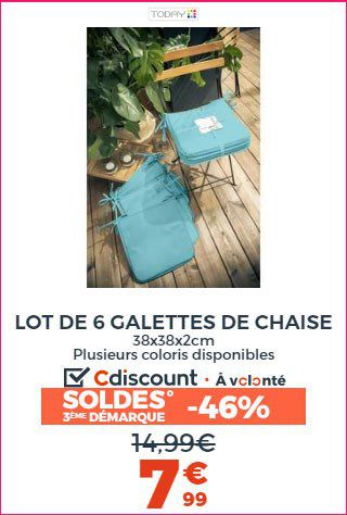 GALETTES CHAISES