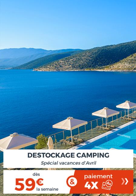 Destockage camping