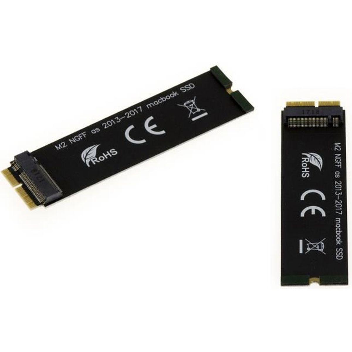 CARTE CONTROLEUR Adaptateur pour remplacer un SSD de Macbook Air ou
