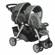 POUSSETTE  CHICCO Poussette Double Together Graphite
