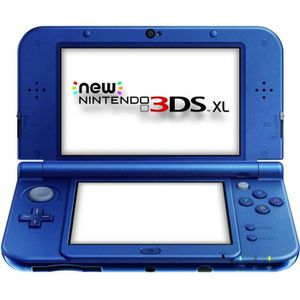 CONSOLE NEW 3DS XL New 3DS XL Bleue Métallique