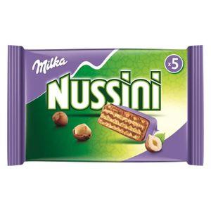CONFISERIE DE CHOCOLAT Milka Barres Nussini 5x31,5g