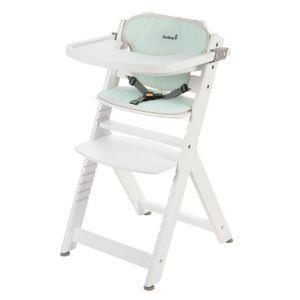CHAISE HAUTE  SAFETY 1ST Chaise Haute Timba en bois + coussin -