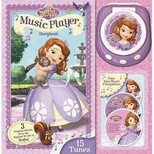 Livre 3-6 ANS Princesse Sofia : mon premier lecteur CD de chanso