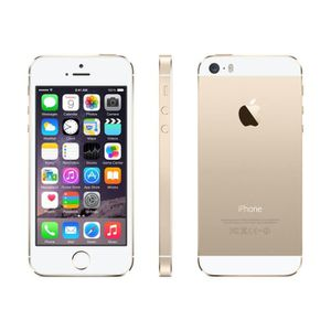 TELEPHONE PORTABLE RECONDITIONNÉ APPLE IPhone 5S 16Go Or