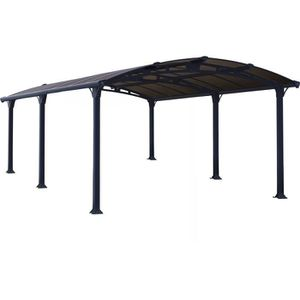 carport aluminium achat vente carport aluminium pas cher cdiscount. Black Bedroom Furniture Sets. Home Design Ideas
