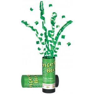 CONFETTIS Canon à confettis verts Saint-Patrick