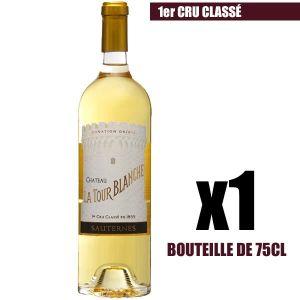 VIN BLANC X1 Château La Tour Blanche 2016 75 cl AOC Sauterne