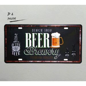 plaque metal biere achat vente plaque metal biere pas cher cdiscount. Black Bedroom Furniture Sets. Home Design Ideas