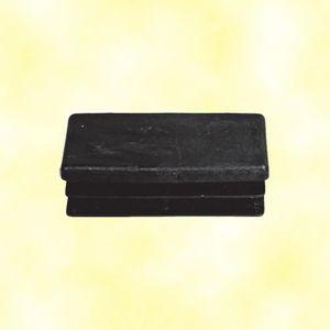 bouchon pour tube rectangulaire 100x40 noir plastique Embout bouchons dobturation 1 pcs