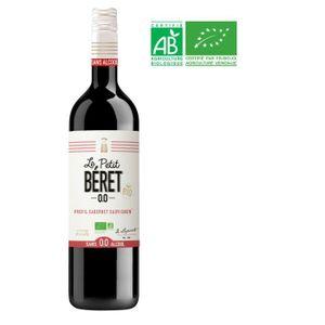 Apéritif à base de vin LE PETIT BERET Rouge Intense Boisson sans Alcool à