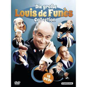 DVD FILM Le grand Louis de Funes Collection 16 DVD Box