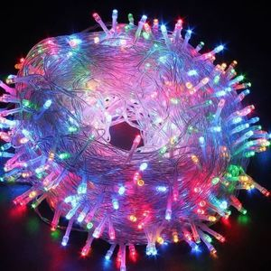 Déco de fête murale Guirlandes Lumineuses 30M Etanche 300 LEDs Fée ave