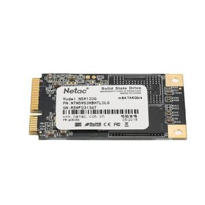 DISQUE DUR SSD Netac SSD Disque dur 120Go - MSATA6Gb / s  - 501 M
